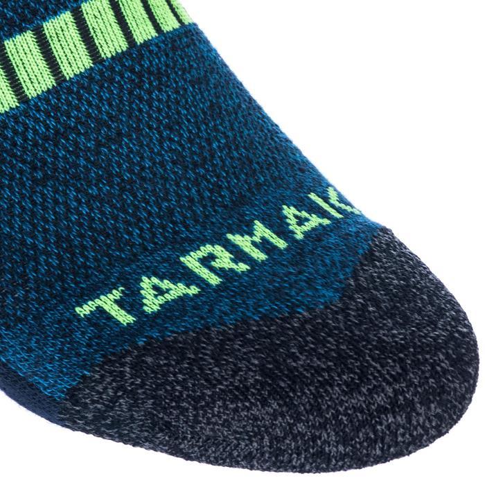 儿童篮球袜Mid 适用于中阶篮球爱好者 - 蓝色/黄色