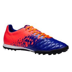 成人碎钉足球鞋 Agility 500 HG - 蓝色/橙色