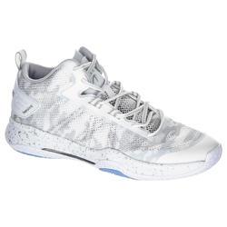 成人篮球运动鞋SC500 Mid适用于中阶篮球爱好者 - 白色