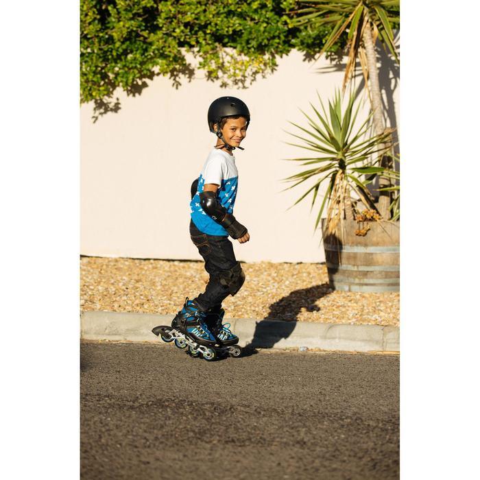 儿童直排轮护具套装PLAY - Black