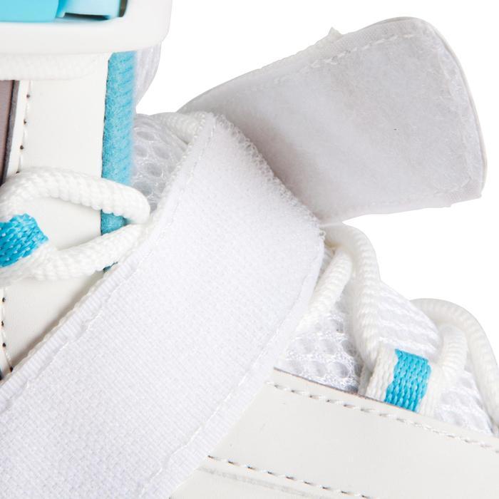 女式溜冰鞋FIT 3 - White/Blue