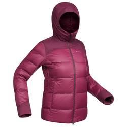TREK 900 女式厚款连帽保暖羽绒夹克 - 紫色