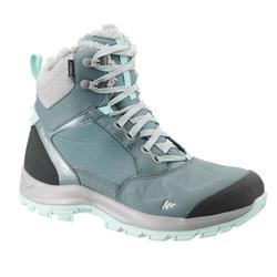 户外运动保暖防水女士保暖靴 QUECHUA For 500 Warm