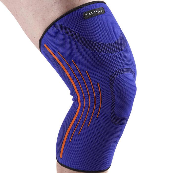 左/右男式/女式护膝Soft 300 - 蓝色