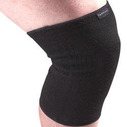 左/右男式/女式护膝Soft 100 - 黑色