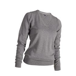 高尔夫运动V领女士套头衫 INESIS 500系列