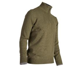 高尔夫运动半拉链针织衫男士套头衫 INESIS