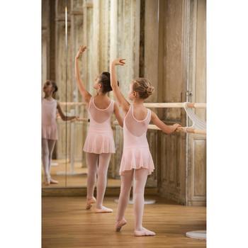 女童薄纱芭蕾舞裙 - 粉色