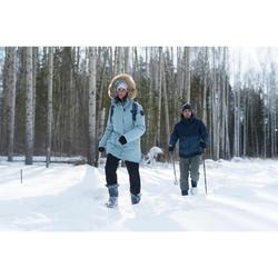 SH100 女式冬季雪地徒步保暖长裤 ULTRA-WARM - 黑色