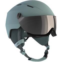 成人滑雪头盔带雪镜 D-SKI H350 - BLUE