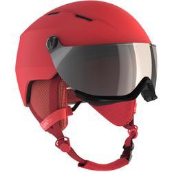 成人滑雪头盔带雪镜D-SKI H350 - CORAL