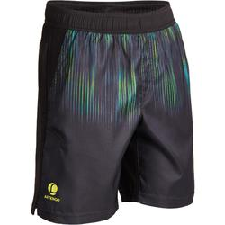 TH 500 JR Thermal Shorts - Black/Neon Lime Green