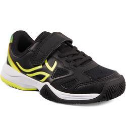 青少年网球鞋TS560-黑/黄