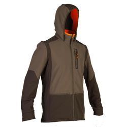 荒野探险900系列混合面料夹克-棕色