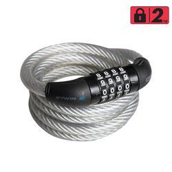 自行车钢缆密码锁120