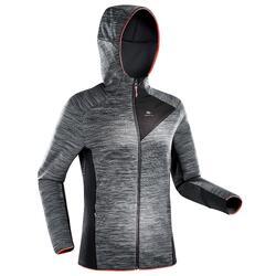 MH900 女式登山徒步摇粒绒夹克 - 斑驳灰