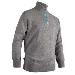 高尔夫运动保暖儿童套头衫 INESIS