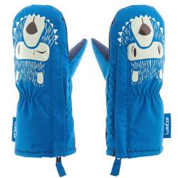 婴儿雪橇手套Warm - Blue