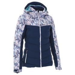 滑雪运动保暖防风透气 兜帽可调节女式羽绒服外套 WED'ZE Slide 500 Warm