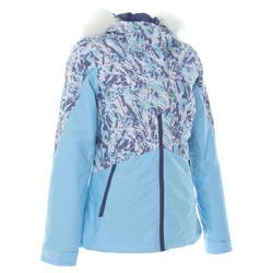女式滑雪夹克 D-SKI 180 - BLUE