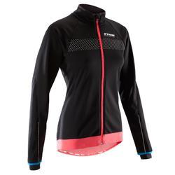 自行车运动女式骑行运动夹克衫 B'TWIN 900