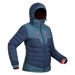 女式滑雪夹克SKI-P JKT 900 WARM NAVY AND BLUE