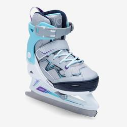 溜冰鞋FIT 100 - Grey/Turquoise