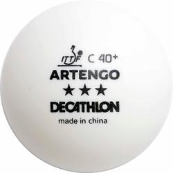 乒乓球运动40+ 4只装乒乓球 ARTENGO TTB 900