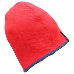 成人滑雪双面保暖帽NAVY RED