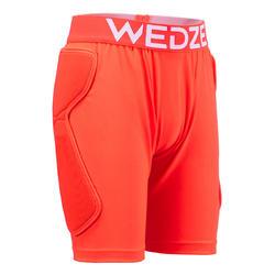 青少年滑雪防护短裤DSH 100 - Orange