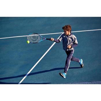 青少年网球保暖夹克500-海军蓝