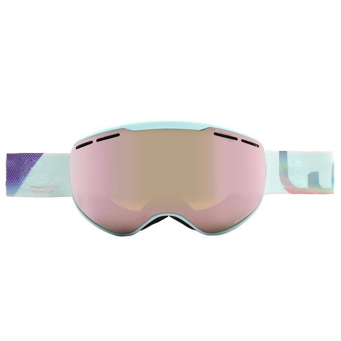 成人和儿童滑雪护目镜G 540 适用于晴好天气 蓝色