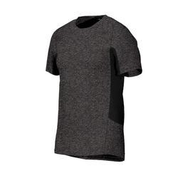 舒缓健身与普拉提运动T恤560系列 直筒款 - 深灰色