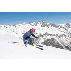 双板滑雪雪杖 DOWNHILL BOOST 500 - YELLOW
