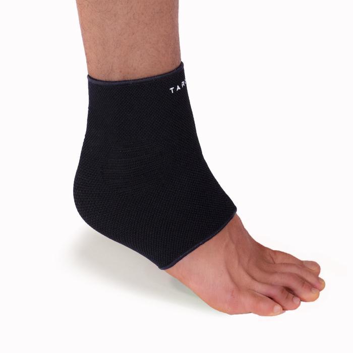 左/右男式/女式护踝Soft 100 - 黑色