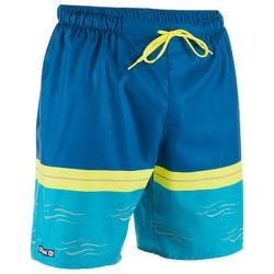 冲浪沙滩裤100 Standard - Dark Blue