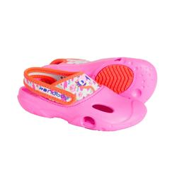 女童泳池凉鞋 100 PINK