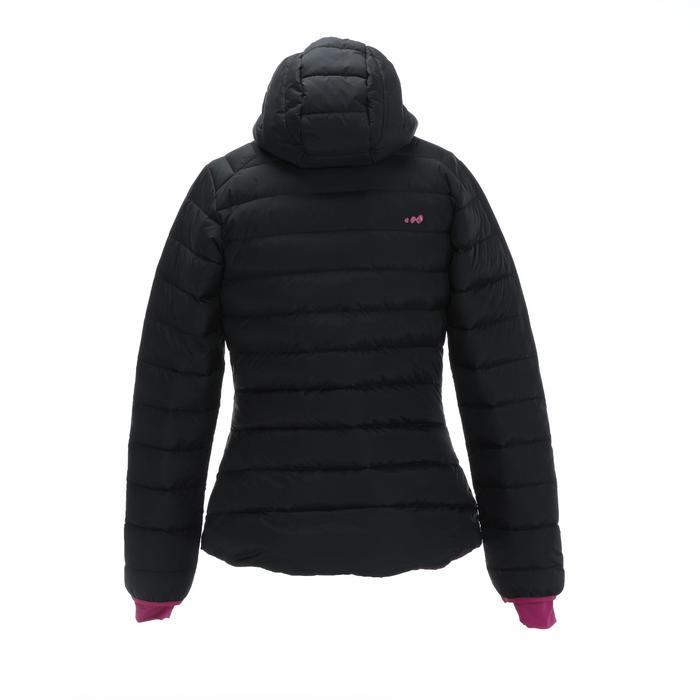 女式滑雪羽绒夹克 JKT 500 Warm - Black