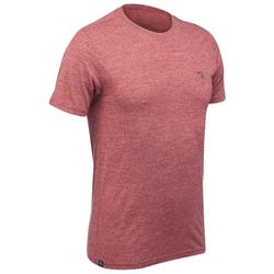 TRAVEL 500 男式美利奴羊毛短袖 T 恤 - 红色