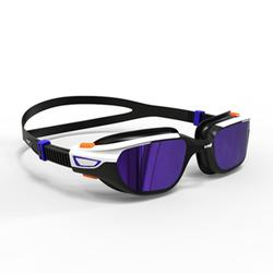 游泳眼镜500 Spirit L号 - Orange Blue, Mirror Lenses