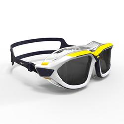 游泳面罩ACTIVE ASIA L号 Blue Yellow, Smoke Lenses