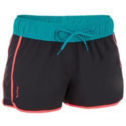 带弹性腰带和抽绳的女式沙滩裤TINI COLORBLOCK