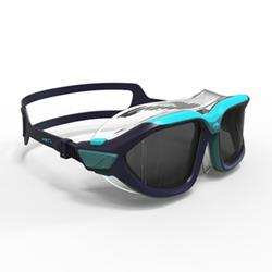 游泳面罩500 ACTIVE , ASIA S Blue, smoky lenses