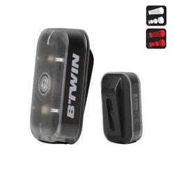 CL 500 自行车前/后 USB LED灯组- 黑色