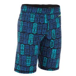 男童长款泳裤100 - ALL TIKI NOIR