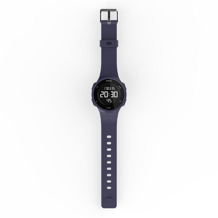 W500M 运行计时器腕表盒+2个运动手环,蓝色和红色