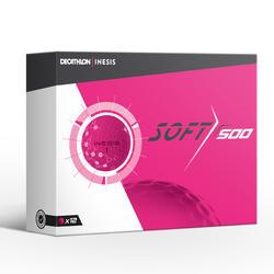 高尔夫球Soft 500系列 (12只装)粉色