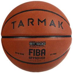 7号篮球BT500 - 棕色/FIBA