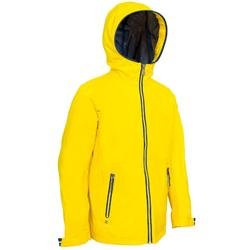 儿童帆船防水夹克100 - Yellow