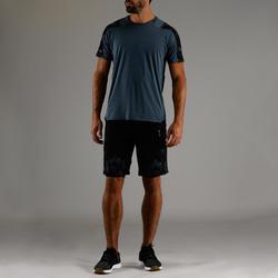 FTS 500 有氧健身T恤 - 灰色 AOP